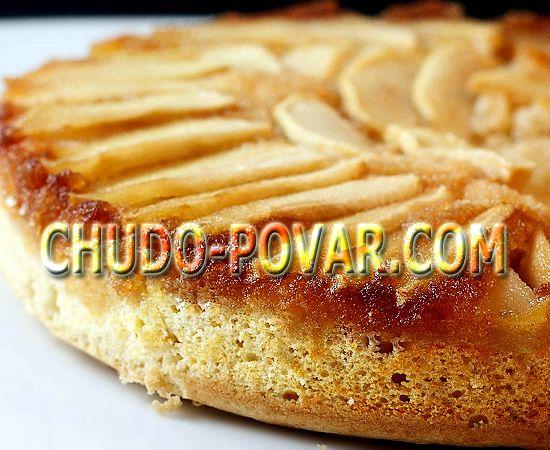 приготовление пирога шарлотка с яблоками самый простой рецепт