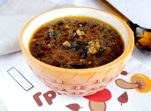 теремок рецепт грибного супа из