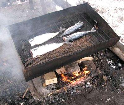 Рецепт копчения скумбрии в коптильне горячего копчения