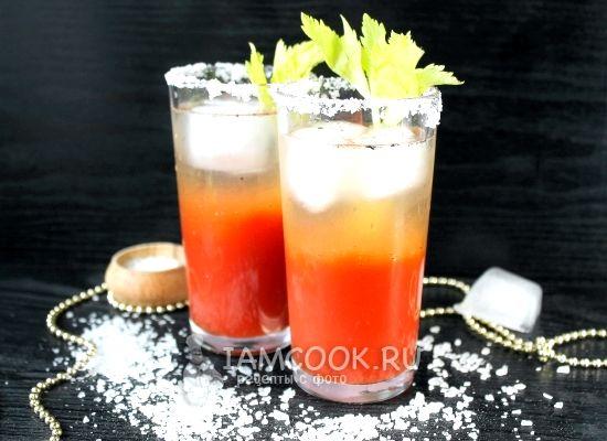 как приготовить коктейль в домашних условиях кровавая мэри