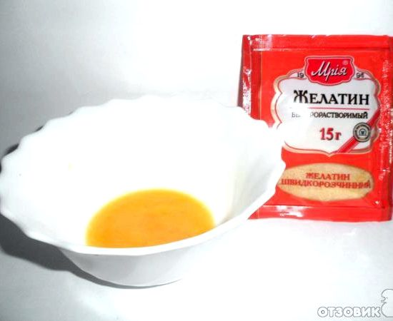 Рецепт для ламинирования желатин и яйцом