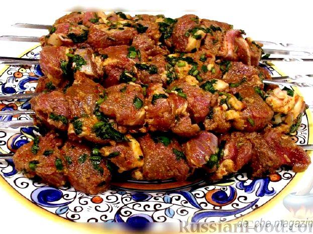 Рецепт маринад для баранины для шашлыка