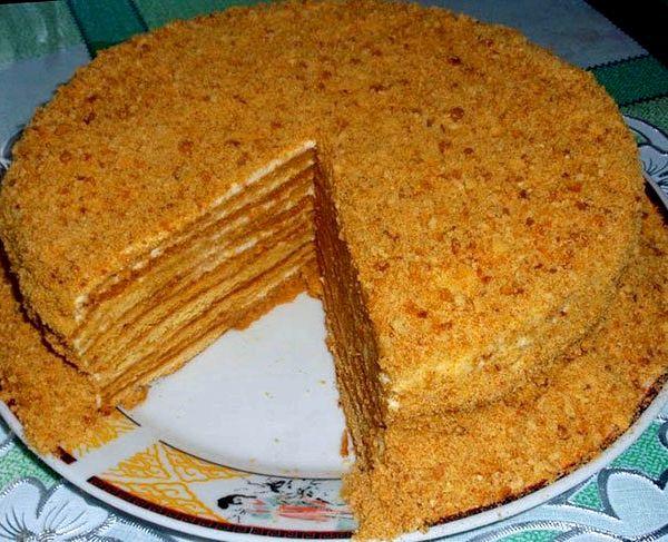 Как сделать простой торт в домашних условиях рецепт