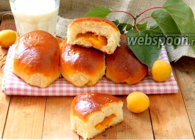Пирожки с абрикосовым вареньем в духовке