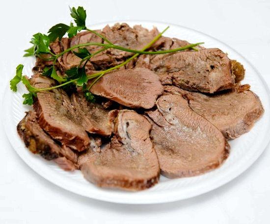 Язык из говядины рецепт