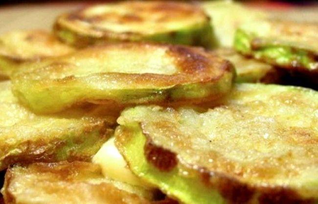 Рецепт приготовления жареных кабачков