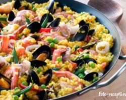 Рецепт рис с морепродуктами фото рецепт
