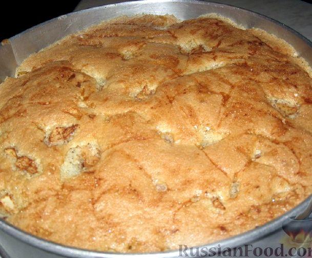 Пп шарлотка с яблоками в духовке рецепт с фото