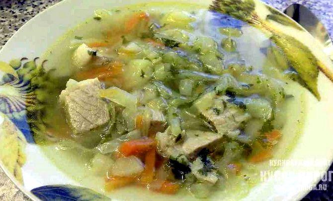 Рецепт вкусных щей из свежей капусты со свининой рецепт