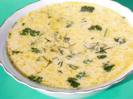 Рецепт сырный суп из плавленного сыра