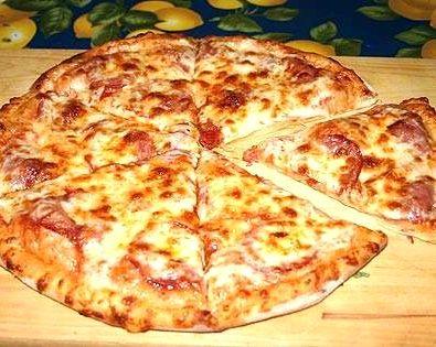 тесто для пиццы без дрожжей в домашних условиях
