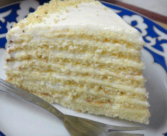 Молочная девочка торт пошаговый рецепт с фото