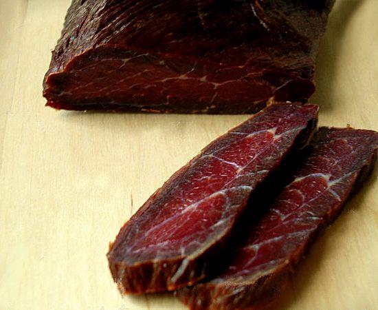 вяленое свиное мясо в домашних условиях рецепт с фото