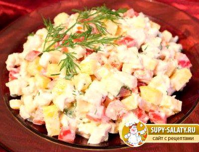 вкусные салаты на день рождения с фото и рецептами слоями