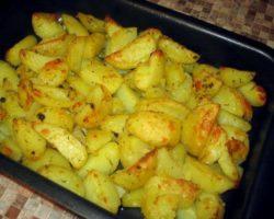 Рецепт запеченная картошка в духовке с фото