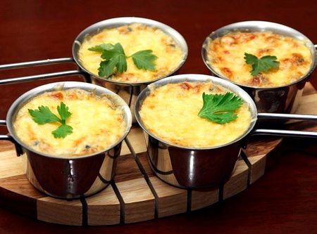 Рецепт жульена с курицей и грибами в. духовке