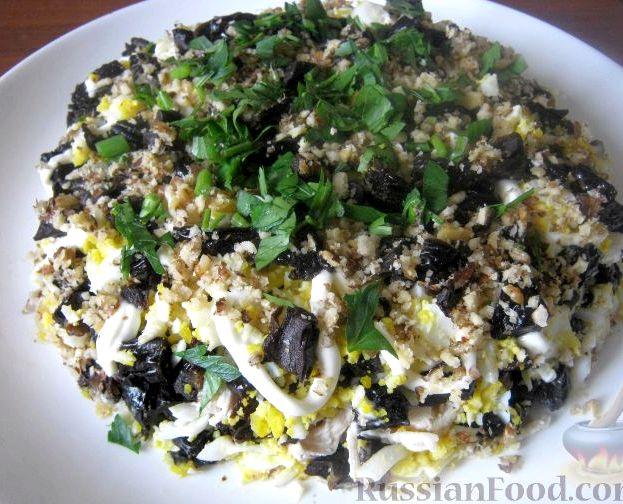 мужской каприз салат рецепт с грецкими орехами