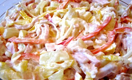 Рецепт салата грибная поляна с морковкой по корейски
