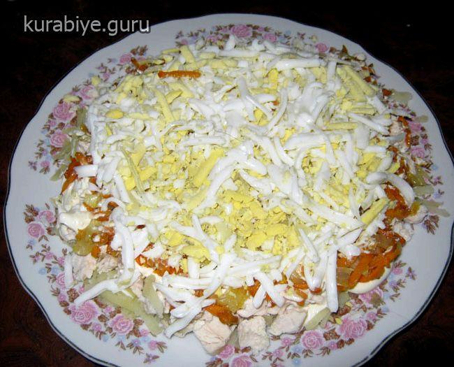 салат с брокколи и грибами рецепт с фото в