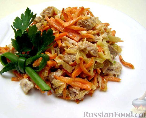 Салаты по корейски из капусты рецепты с простые и вкусные
