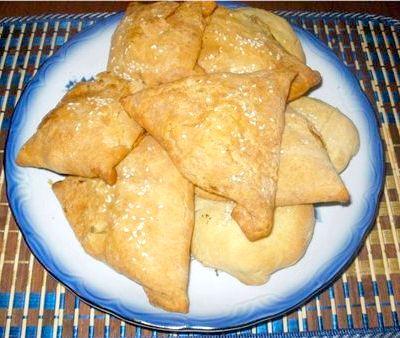 Слоеное тесто приготовления на самсу