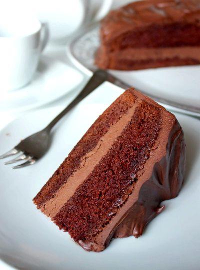 шоколадный торт рецепт с фото пошаговый