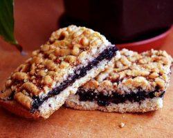 Сладкий пирог в духовке рецепт с фото с вареньем