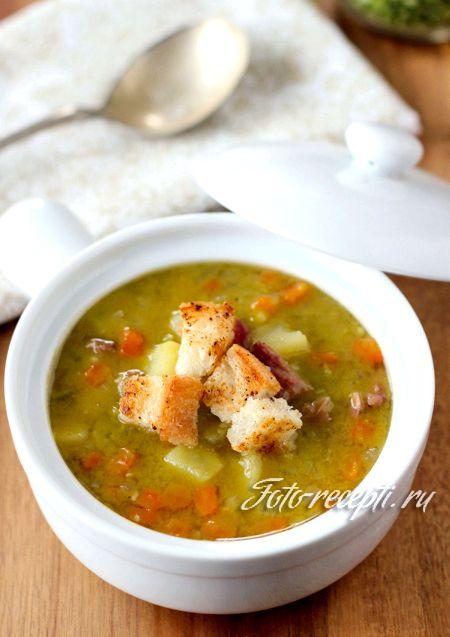 Классический гороховый суп пошаговый рецепт