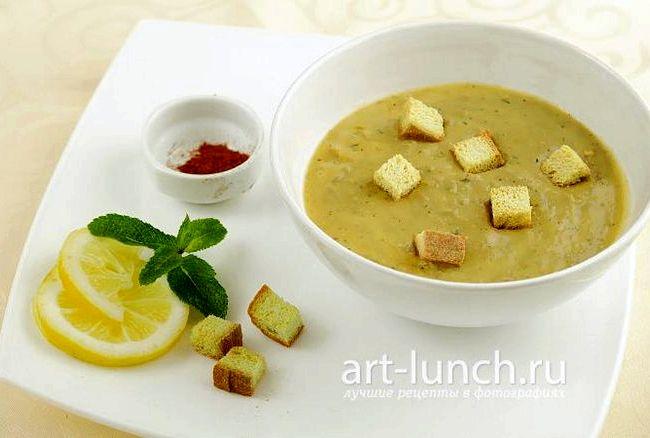 Суп из чечевицы пюре рецепт с фото пошагово