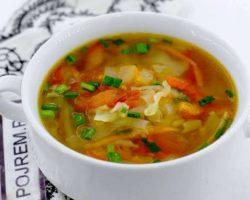 Суп из свежей капусты пошаговый рецепт с фото