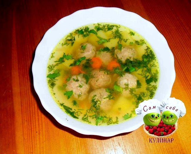 Самый вкусный суп с фрикадельками рецепт с пошагово