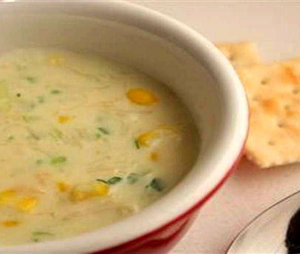 Суп с консервированной кукурузой рецепт