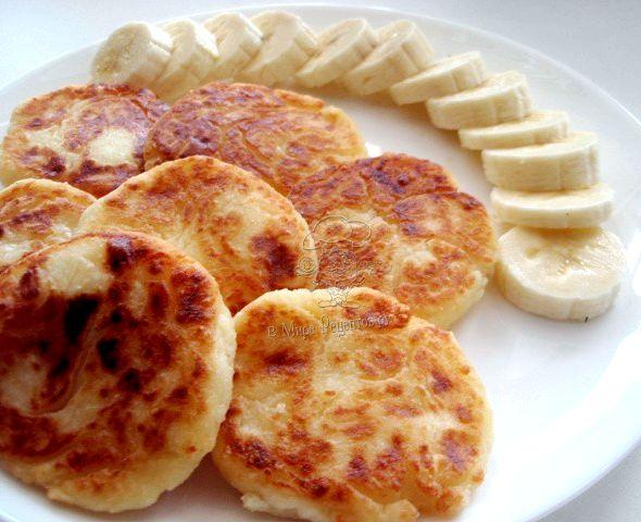Сырники из творога рецепт классический с фото с манкой