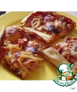 Тесто для пиццы без дрожжей и дрожжевое - рецепты теста ...