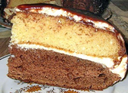 Бисквит со сгущенкой рецепт с фото пошагово в домашних условиях