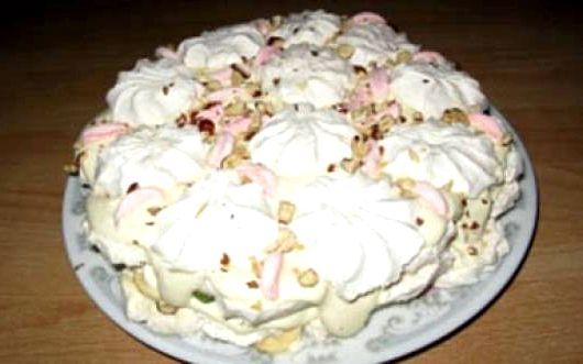 торт из зефира от лаймы вайкуле рецепт с фото
