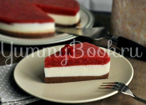 Муссовый торт клубничный рецепт с пошагово