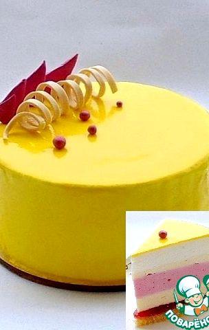 зеркальный торт рецепт с фото пошагово