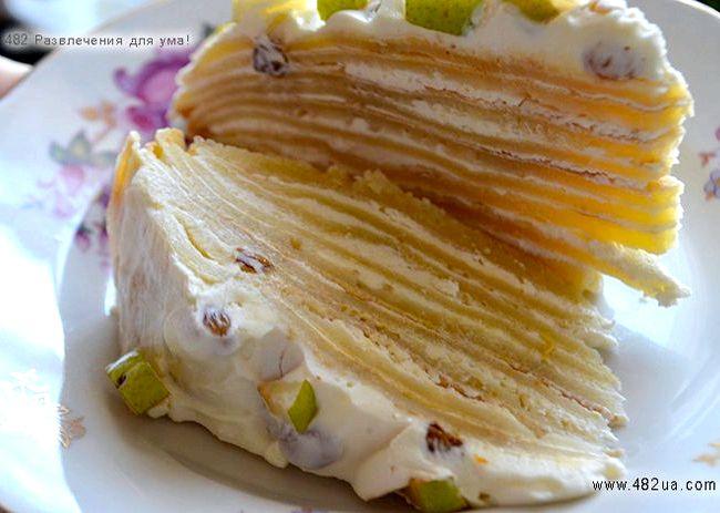 вкусный торт творогом рецепт фото