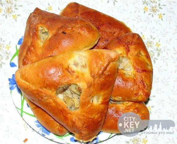 Треугольники с картошкой и мясом пошаговый рецепт с фото