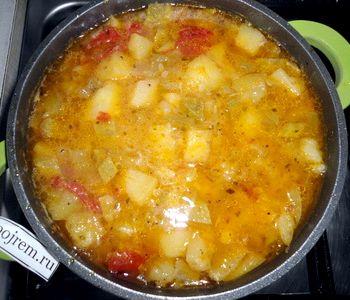 Тушеные кабачки с картошкой в мультиварке рецепты с пошагово в