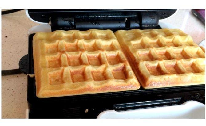 Рецепт вафель для электровафельницы рецепт с фото пошагово