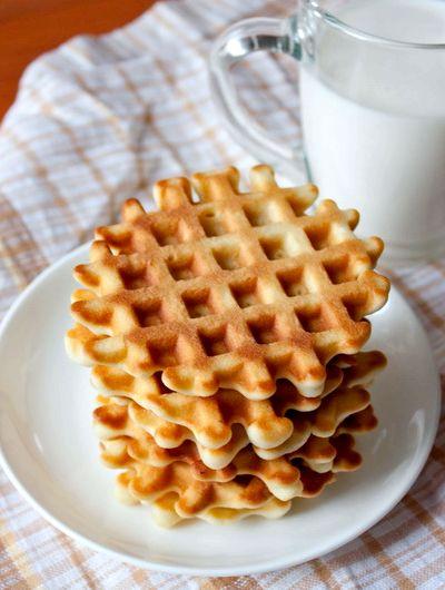 Вафли в вафельнице рецепт с фото мягкие