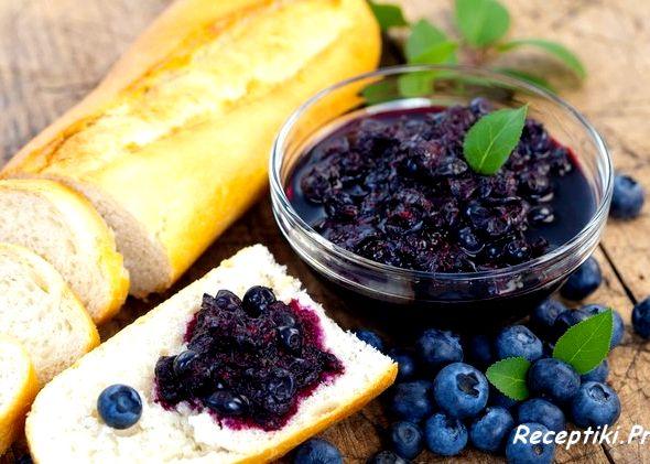 Варенье из черники на зиму простой рецепт без закатывания