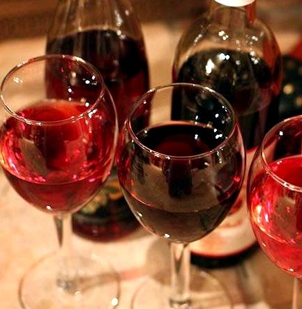 Вино из садовой в домашних условиях