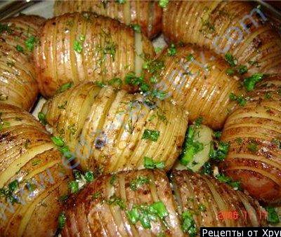 Картофель в фольге в духовке с курицей рецепт с фото