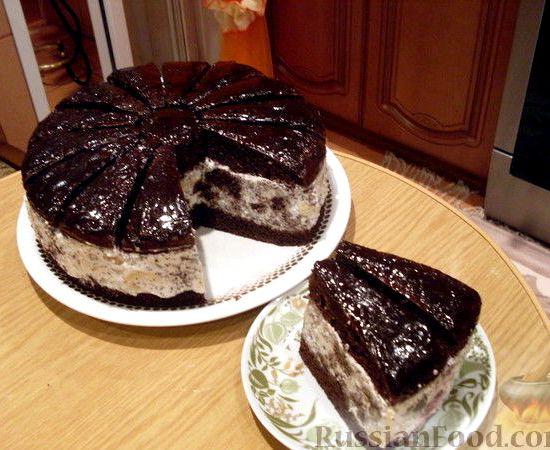 Африканская ромашка торт рецепт с фото