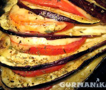Баклажаны в духовке с сыром и помидорами рецепт с фото