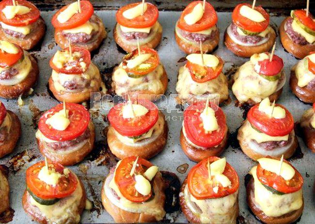 Баранки с фаршем рецепт в духовке с фото
