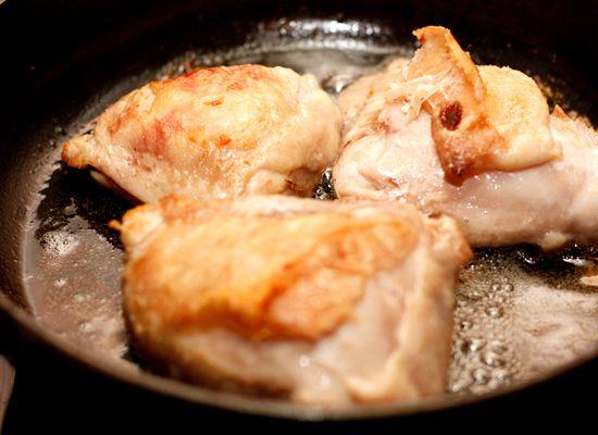 Бедра куриные на сковороде рецепт с фото